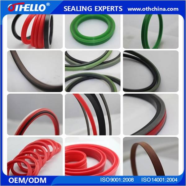 Hydraulic seal  O Y U style ring