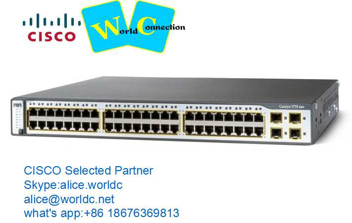 WS-C3650-48TS-S CISCO 3650 48 port switch Cisco equipment
