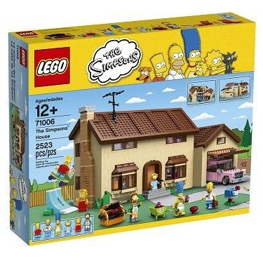 WHOLESALE LEGO Simpsons 71006 the Simpsons House