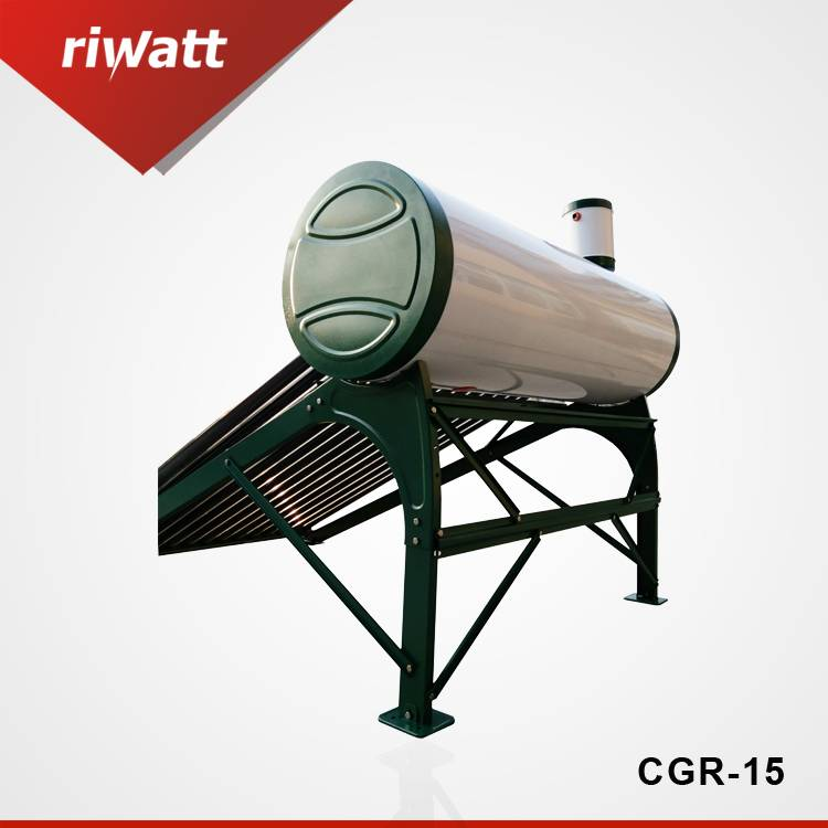 15 Tubes 150L solar water heater