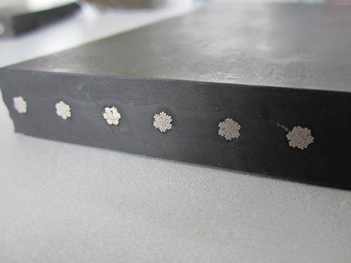 steel cord conveyor belt with good quality