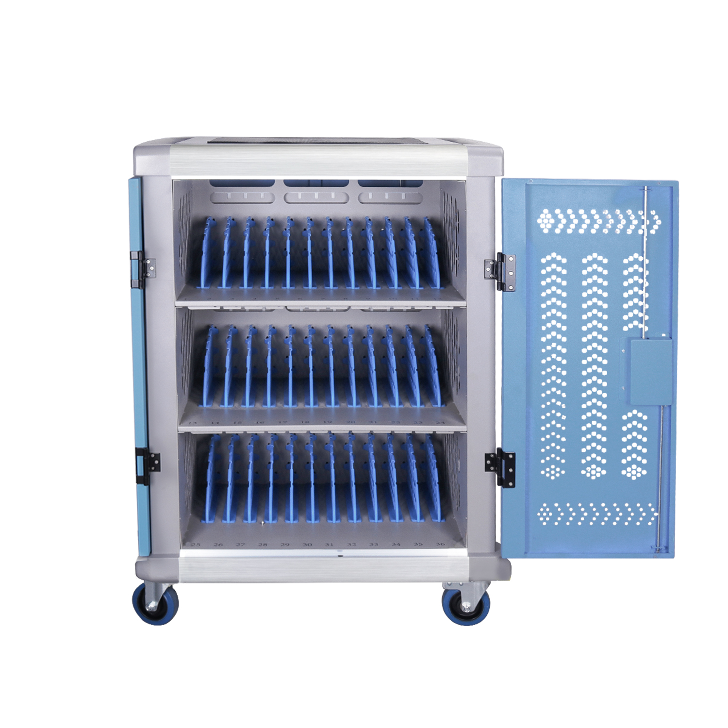 Charging Cart/Charging Station for tablet PC, USB, DC charging 36-bay, Y836D