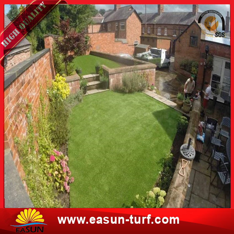 Landscaping Cheap Synthetic Artificial grass Turf For Garden Decor-Donut