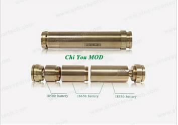 KSD Chi You Mod 18350/18500/18650 Battery 2200/900mah Chi You RDA Vaporizer