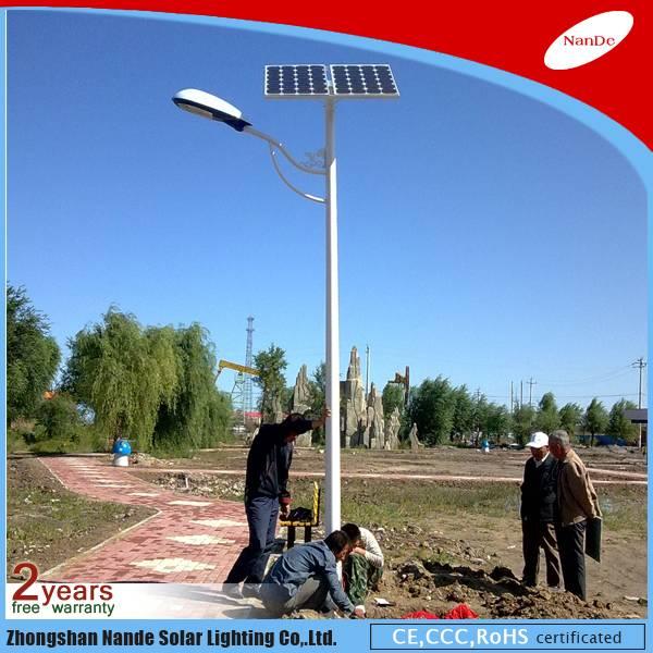 2016 Nande solar street LED light