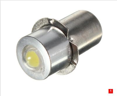 1W P13.5s LED Flashlight Torch Bulbs