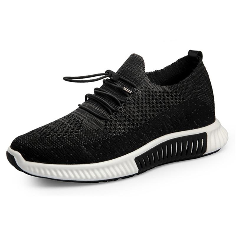 Height increasing elevator sport shoes sneakers for men