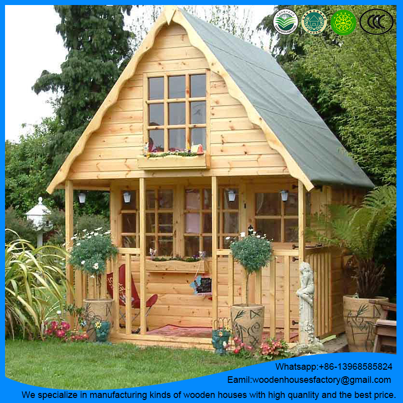 Brand new prefab wooden garden house/log cabin/green house