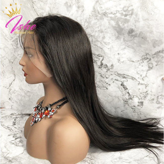 100% Human Hair Lace Wig Straight, BW, DC, DW,EW in stock