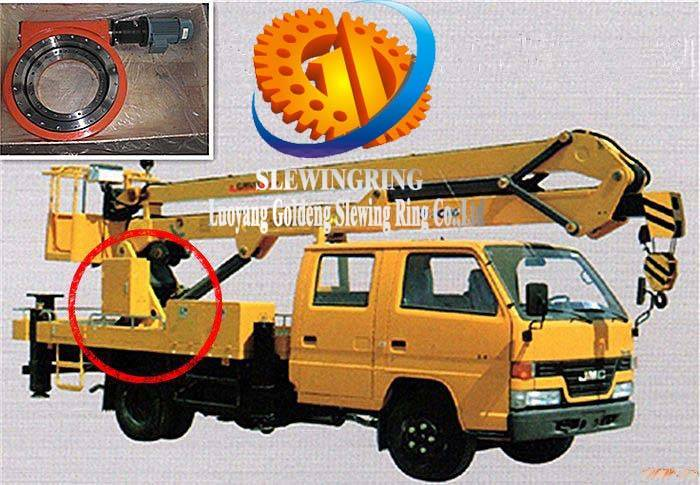 slewing drive for Aerial work carriage