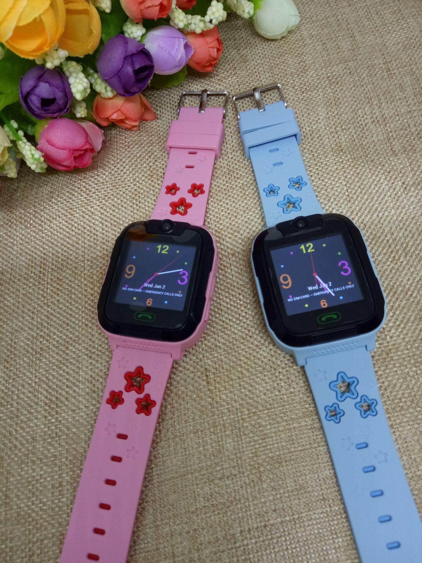 3G network GPS+AGPS+WIFI+LBS remote monitor camera wifi kids gps watch