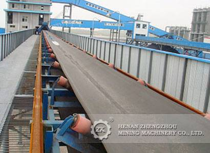 TD75 fixed type belt conveyor