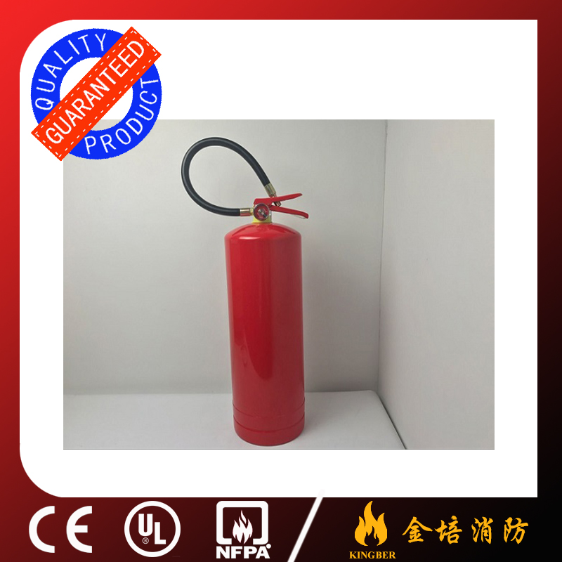 6KG zinc plated dry powder ABC fire extinguisher for Kitchen Using with ISO Approval