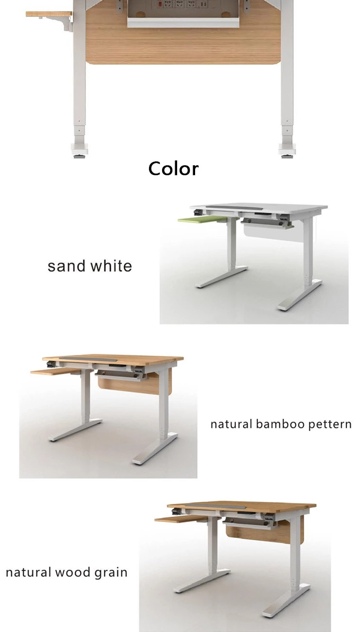 height adjustable sit stand computer desk