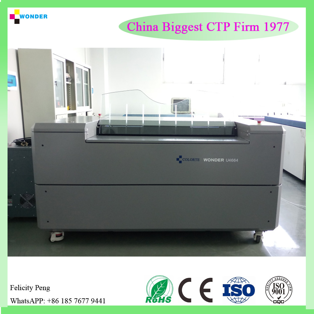 Factory Wholesale Price thermal Ctp Plate Making Machine