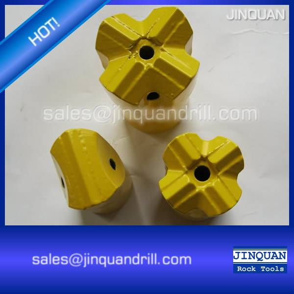Best quality tungsten carbide hard rock drill bit, tapered cross bit for mining