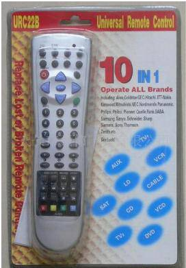 10IN1 UNIVERSAL REMOTE CONTROL