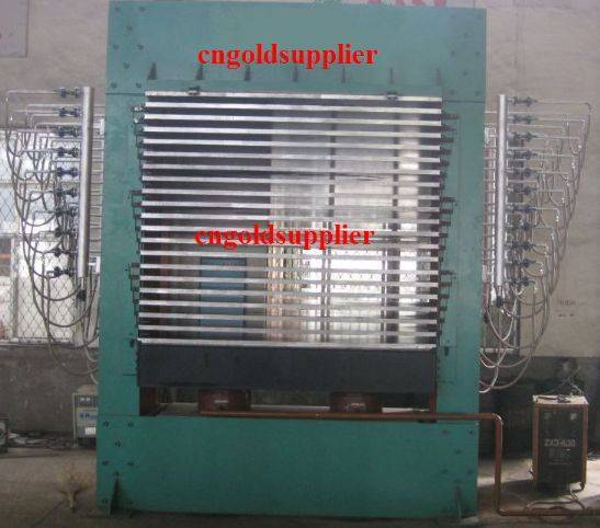 Plywood Hot Press Machinery(Hot Pressing Engine)