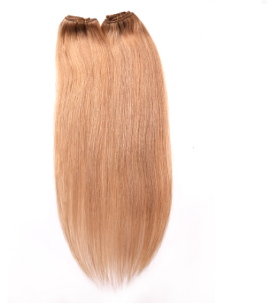 [7Pcs/set]Peruvian Straight Clip In Hair Extensions 70g