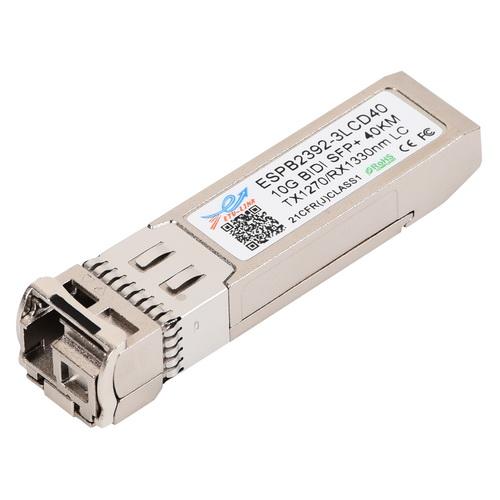 10G SM 40KM BiDi SFP+ Transceiver