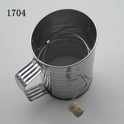 Stainless steel baking tool flour sifter
