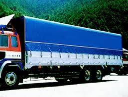 PVC Laminated Tarpaulin for Cover Truck
