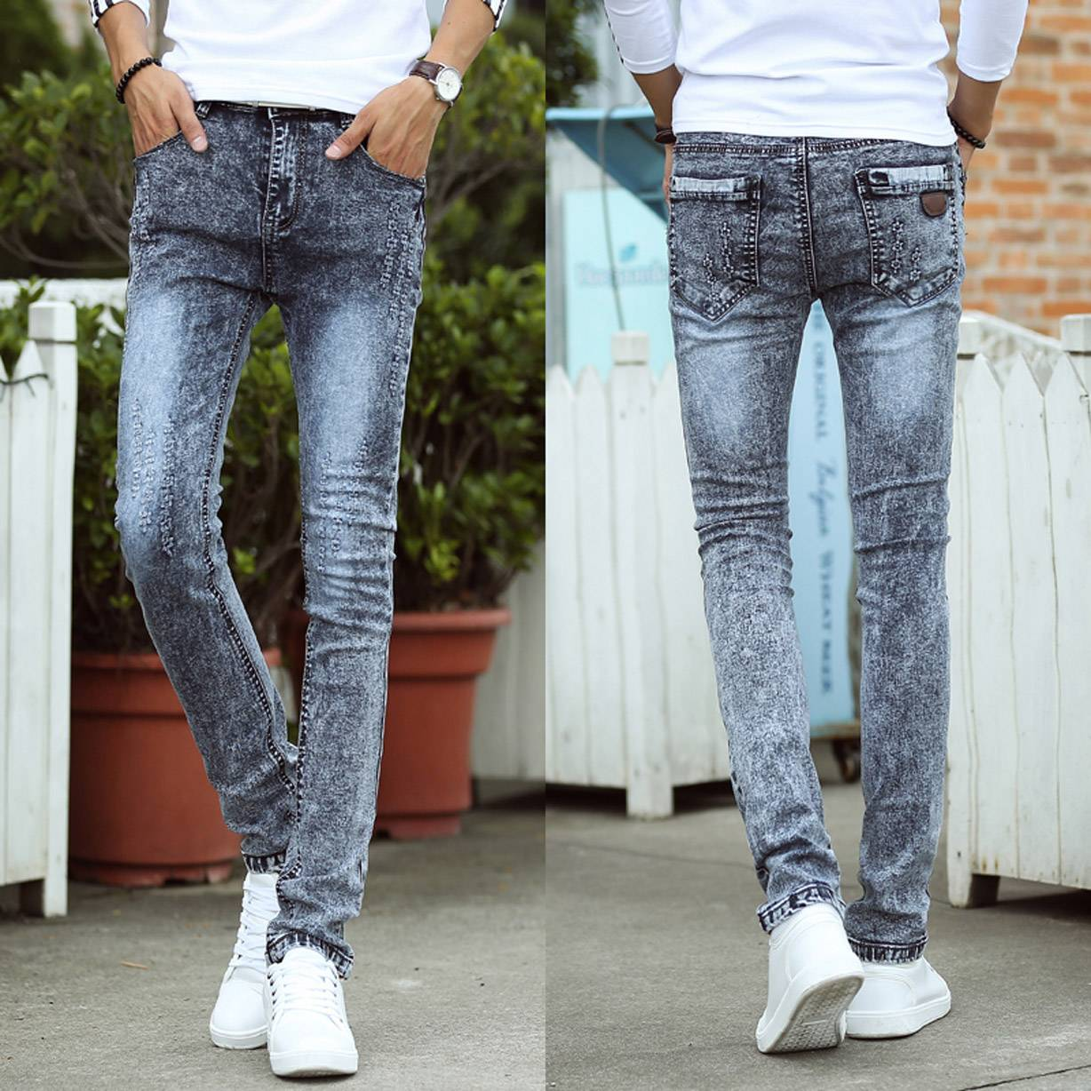 high quality famous man denim jeans wholesale price