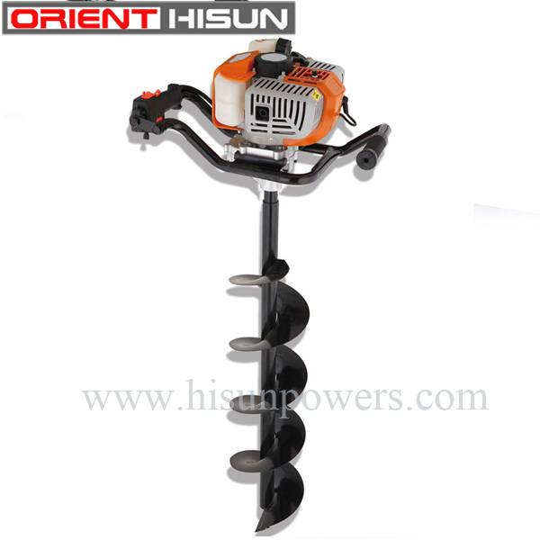 71cc gasoline earth auger/drill machine/land drill machine