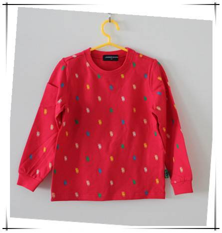 2016 latest design pullover sweatshirt for kids
