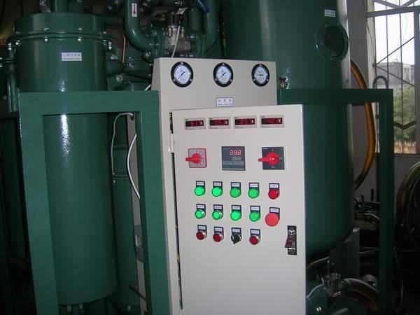 HFC oil dehydration plant