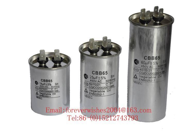 MS capacitor,CBB65,Polypropylene Film Capacitor,washing machine/refrigerator/air conditioner capacit
