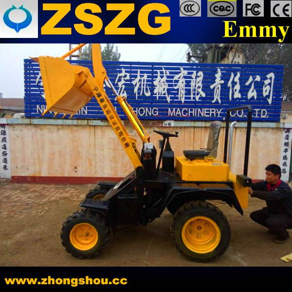 China New Mini Electric Loader for Farm Working