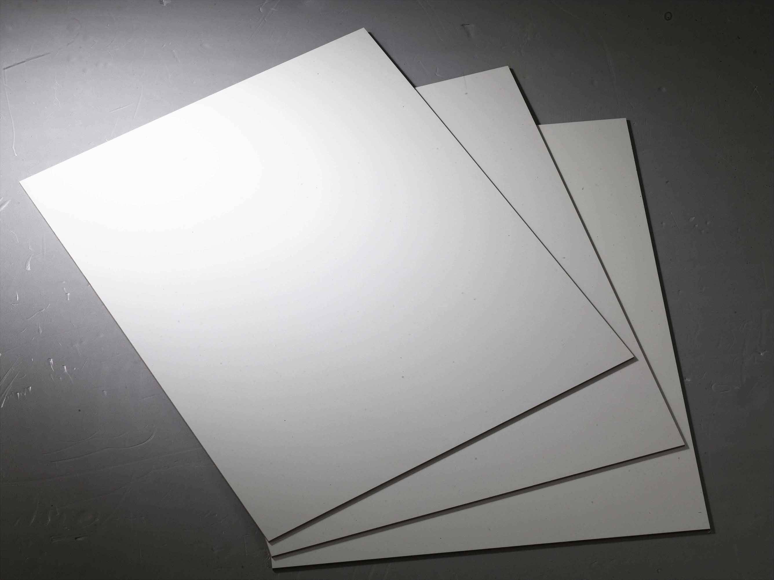 2.50mm/2.60mm/2.70mm white melamine backup board