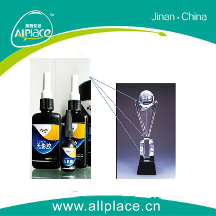 uv glue for glass-glass