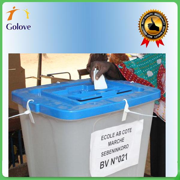 China Wolesale Acrylic Donation Box With Lock Cheap Price Voting Box Election Box