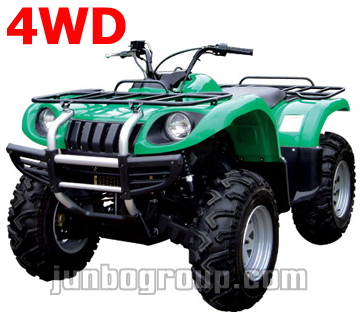 4WD ATV 650cc 4x4/2x4 Selectable Independent Suspension