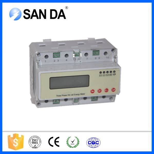 LCD Display Type And Three Phase Phase Smart Energy Meter