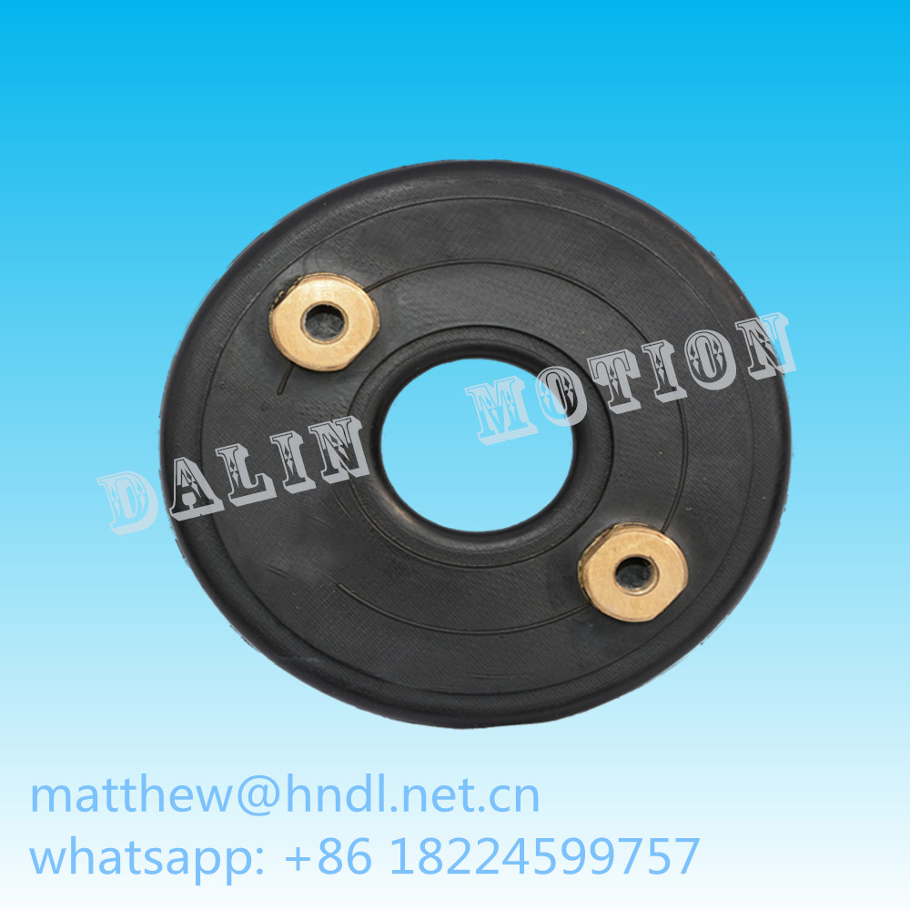 rubber air bag for disc type pneumatic clutch