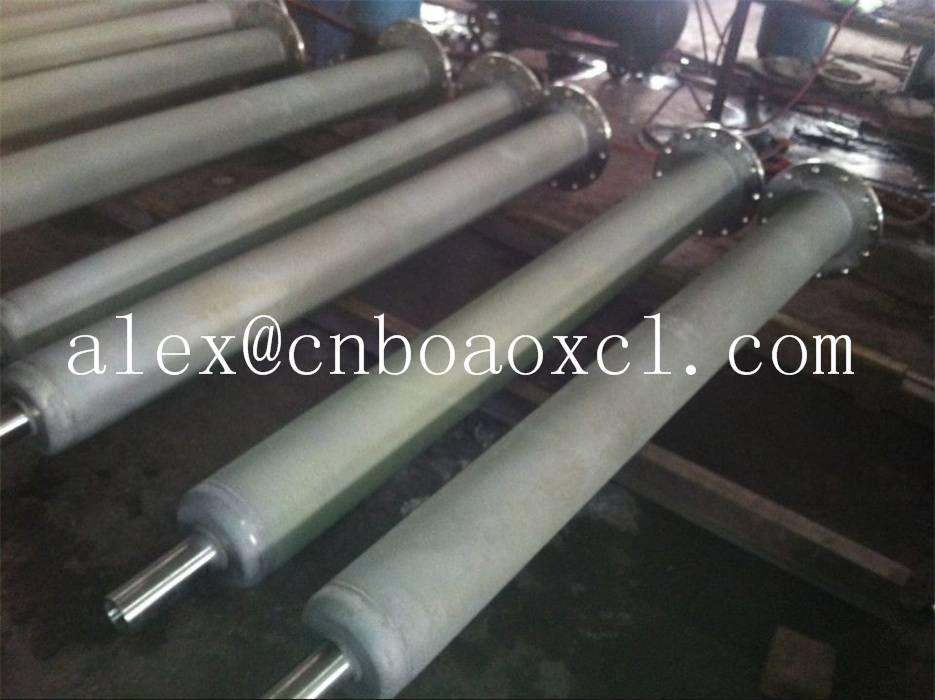 Radiant tube used in furnaces for steels