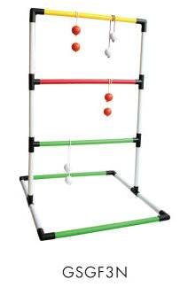 Ladder golf toss game