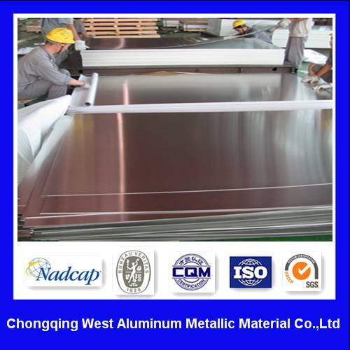 Customize CNC Machining Aluminum Plate 7075