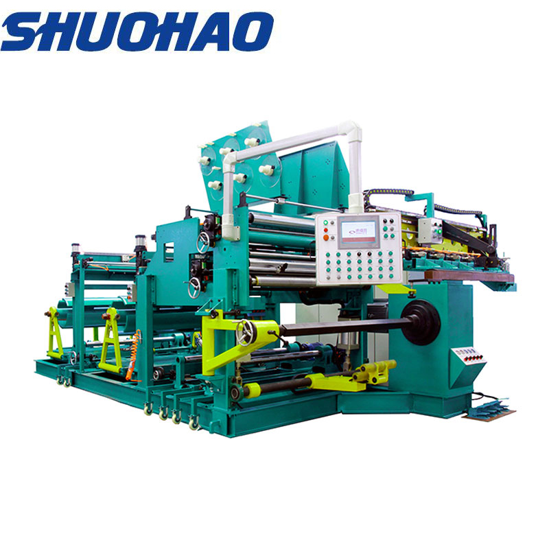 automatic transformer machine for winding 800mm width copper foil