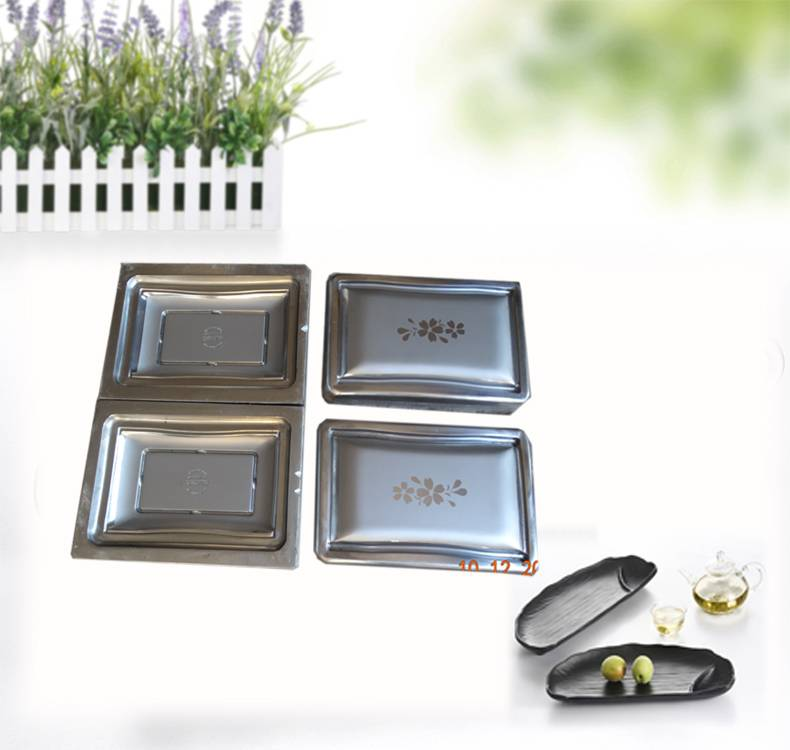 Melamine Tableware Mould Plastic Plate Moulds
