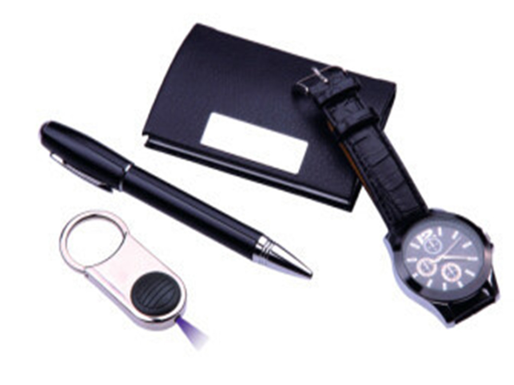The Hot Sale Business Gift Set-Pen/ Card Holder/ Key Holder/ Watch