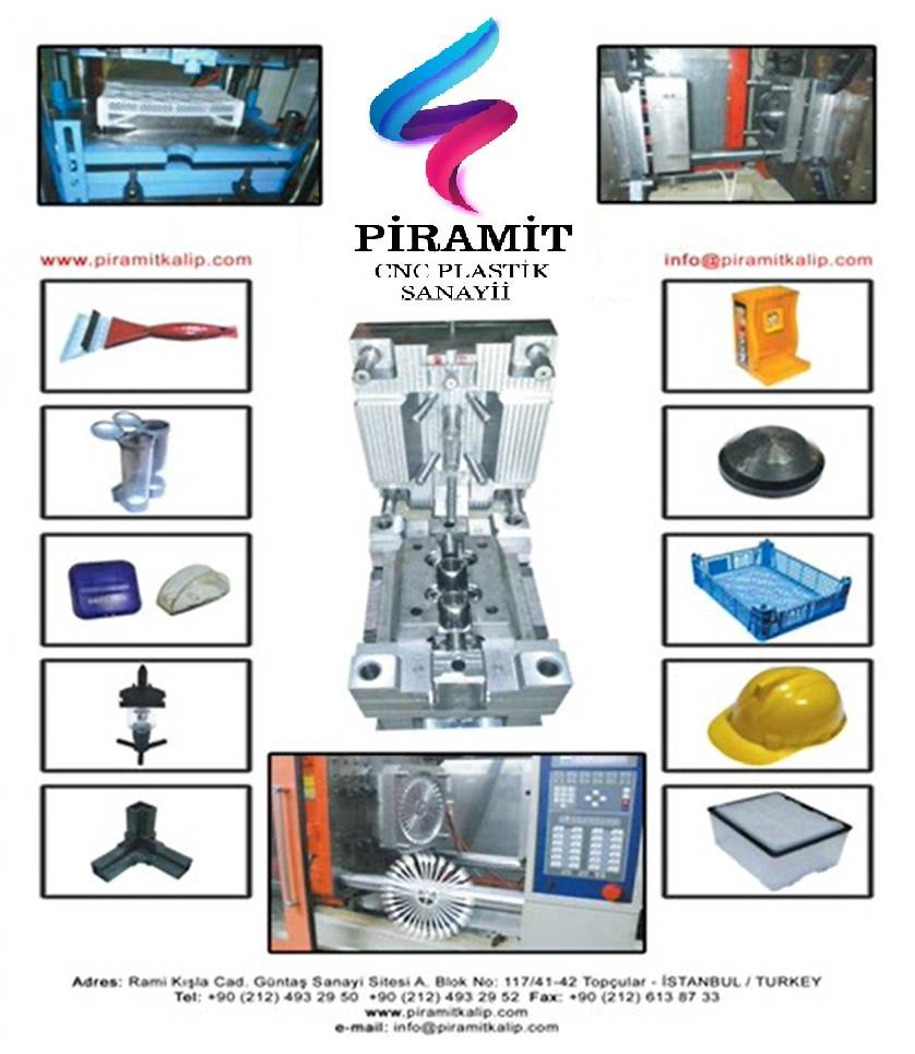 Molds industry , Piramit kalip , Plastic molds making ,  CNC , molds manufacturing , Moulds design,