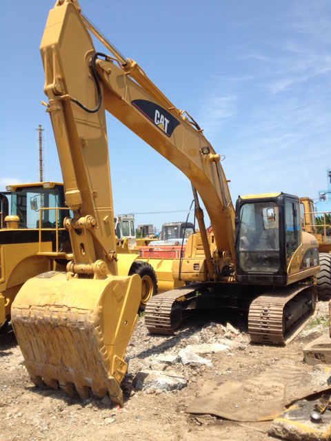 Best price used Caterpillar 320C Excavator, used crawler excavator for sale