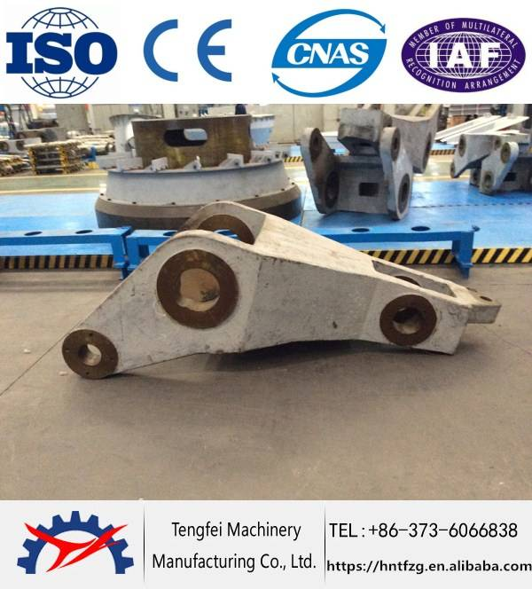 Durable rocker arm for vertical mill