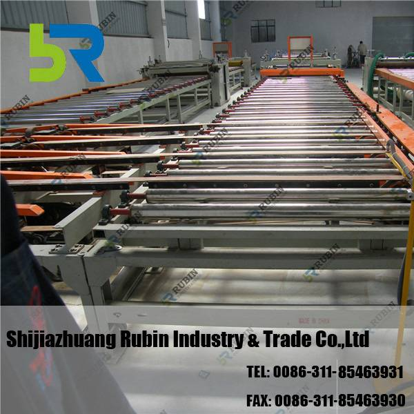 Low Maintenance Rate Gypsum Ceiling Tiles Making Machine