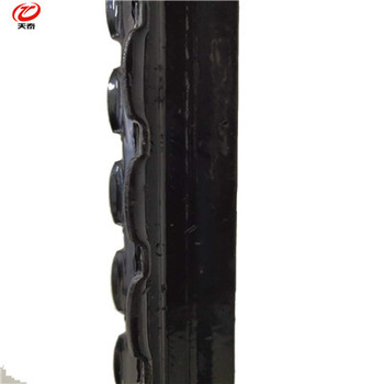 Black Steel Y Fence Post for Middle East and Israel Market