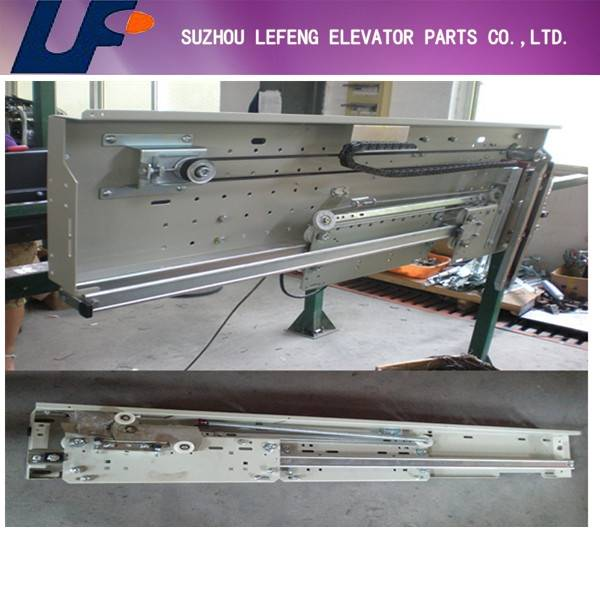 Fermator Permanent Magnet Synchronous Machine European Type Center Opening Two Panel Operator